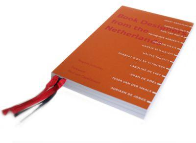 Omslag van Brigitte Schuster. Book Designers from the Netherlands (Brigitte Schuster Éditeur, 2014)