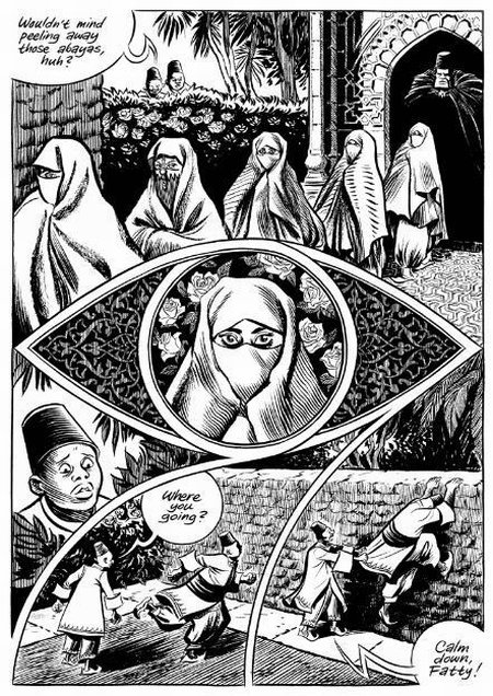 uit: Craig Thompson. Habibi (Pantheon Books)